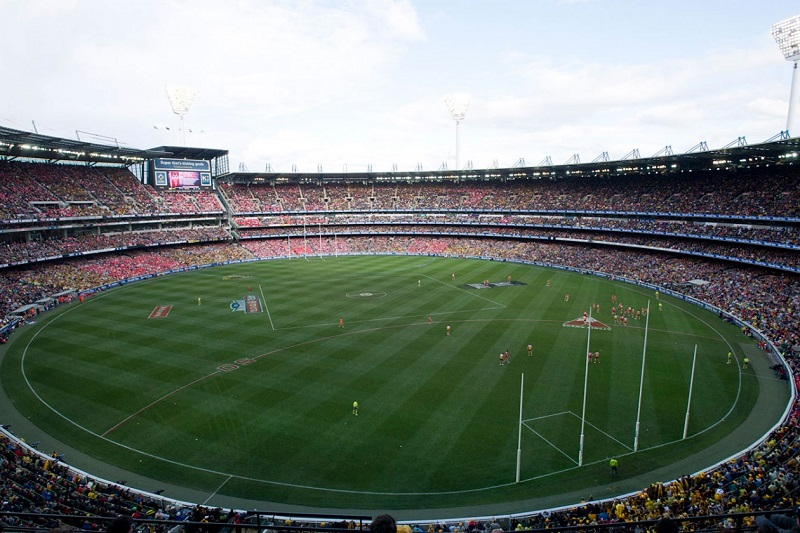 online betting sites afl football field