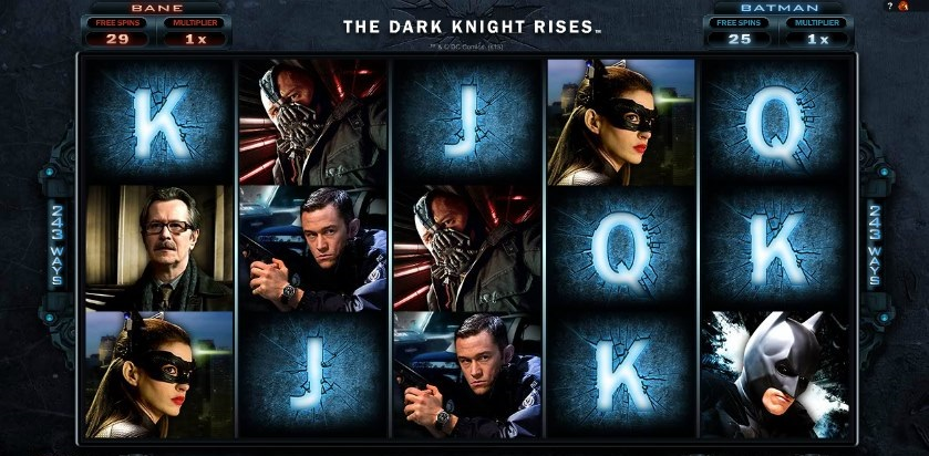 slots online from the dark knight rises