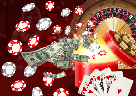 Money, Chips and Cards for Online Canadian Casino Bonuses