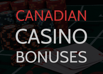 The top Canadian casino bonuses online